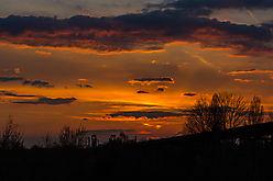 LaPaDU mit Sonnenuntergang