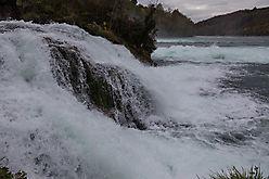 Rheinfall bei Schaffhausen ....oder: Suchbild mit Reiher
