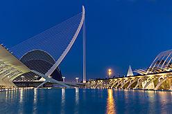 Valencia - Blaue Stunde