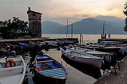 Der kleine Hafen von Cassone
