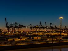 Blaue Stunde Bremerhaven