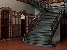 Jugendstil-Treppenhaus