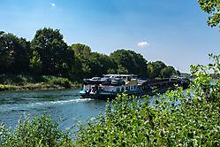 Schiff auf Dortmund-Ems-Kanal