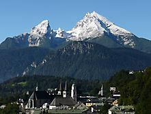 Watzmann über Berchdesgaden