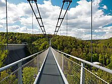 Hängebrücke Rappbodetal
