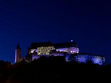 Burg Vianden in der Nacht