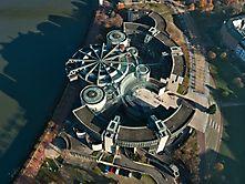 Der Landtag von oben