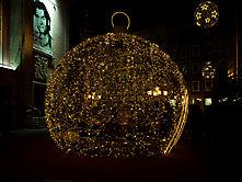 Weihnachtsbaumkugel, Essen