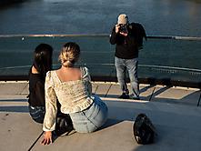 Die Models und der Fotograf