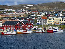 Hammerfest Hafen