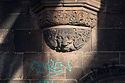 Relief am Brückenturm der Südbrücke