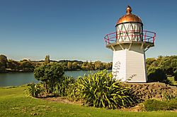Leuchtturm am Wairou River