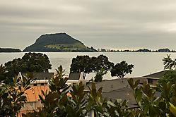 Mount Maunganui, der Vulkankegel ist ein beliebter Naherholungsort