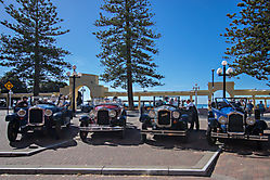 Vintage Cars in Napier