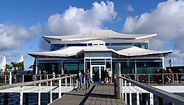 Mikado Teehaus auf der Seebrücke