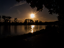 Abendsonne an der Mosel