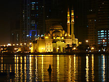Al Noor Mosque in Sharjah (VAE)