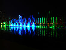 Am Khalid Lake in Sharjah (VAE)