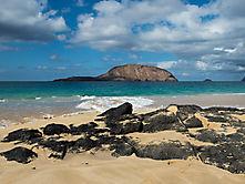 Am Strand von La Graciosa