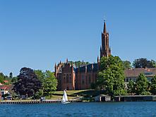 Blick auf die Klosterkirche Malchow