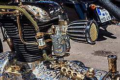 Edel Harley - 24 Karat Blattgold