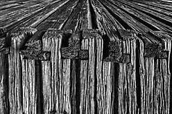 Alte Holzstrukturen