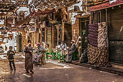 Assuan - Souk am Tage