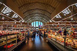 Riga - eine der Markthallen