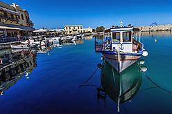 Kreta - Hafen Rethymnon