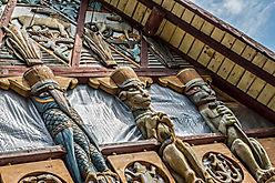 Schnitzwerk - Hausfassade