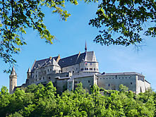 Burg Vianden am Tag