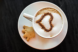 Cuppuccino farbig