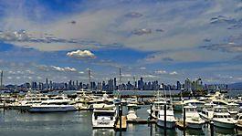 Blick auf Panama Stadt