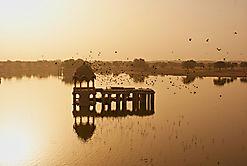 Indien Sonnenaufgang
