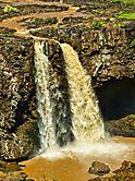 Tis-Issat-Fälle des Blauen Nil in Äthiopien