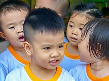 kinder in Vietnam
