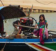 Leben auf einem Hausboot