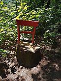 Sitzmöbel in der Natur