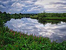 Spiegelsee in Schottland