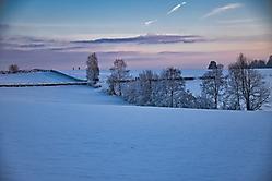 Sonnenuntergang am Ehrenberg