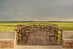 logde mit Aussicht in Namibia