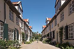 Hof in Lübeck