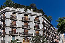 Hausfassade in Valencia