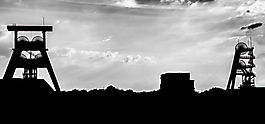 Ruhrgebietssilhouette