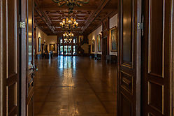 Villa Hügel - Eingangshalle