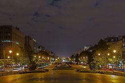 Die Achse von Paris