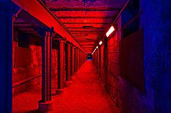 Gang durch das Rotlichtviertel