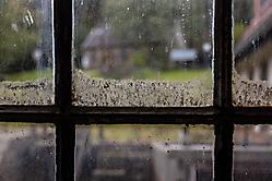 Dreckiges Fenster