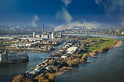 Industrie und Hafen