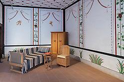 Römisches Wohnzimmer.